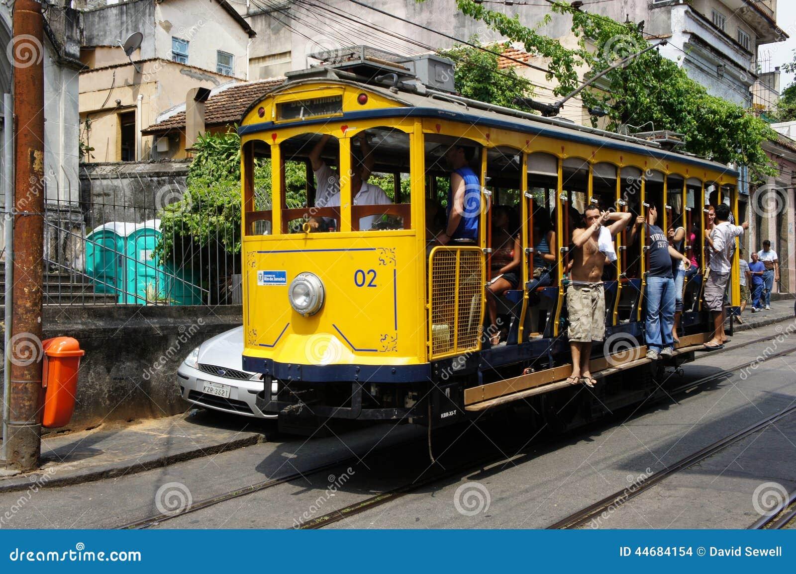 Tramwaj w Santa Teresa, Brazylia