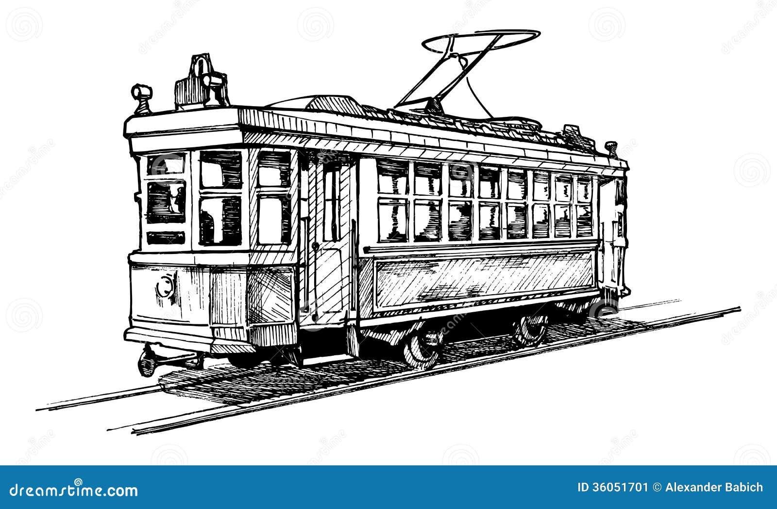 Tramway Stock Image - Image: 36051701