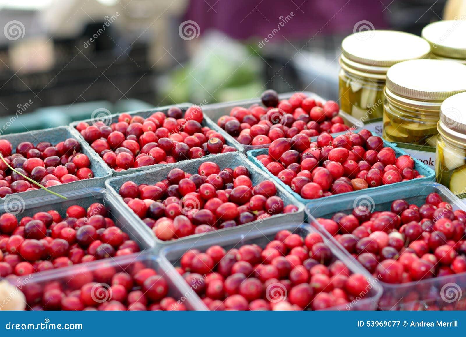 Tranbär på bondemarknaden