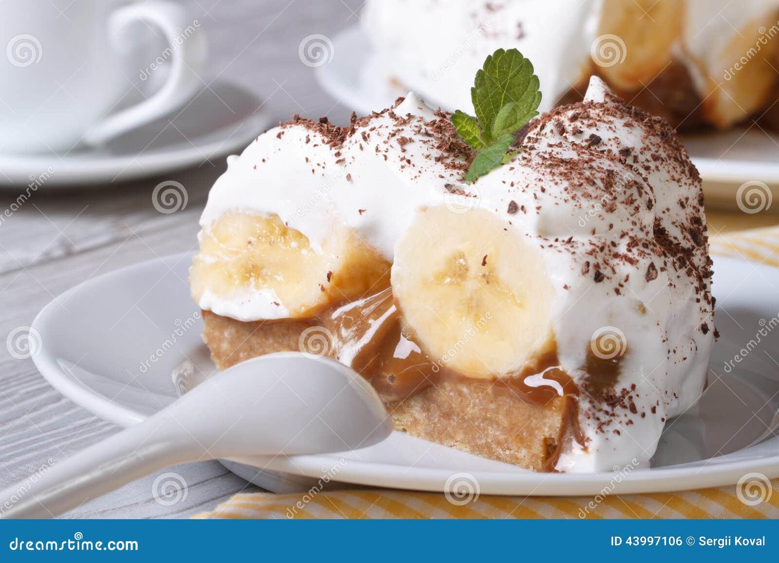 Gateau anglais a la banane