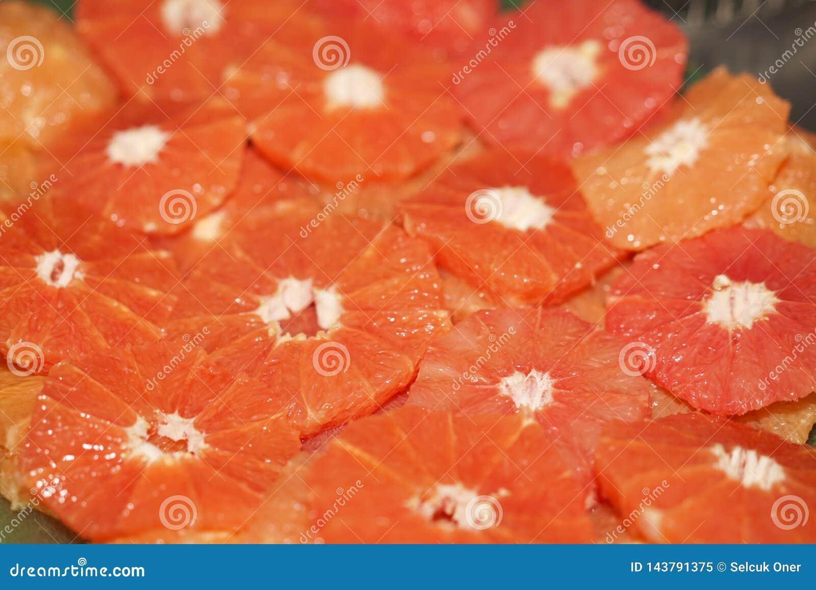 Tranches d?licieuses d orange
