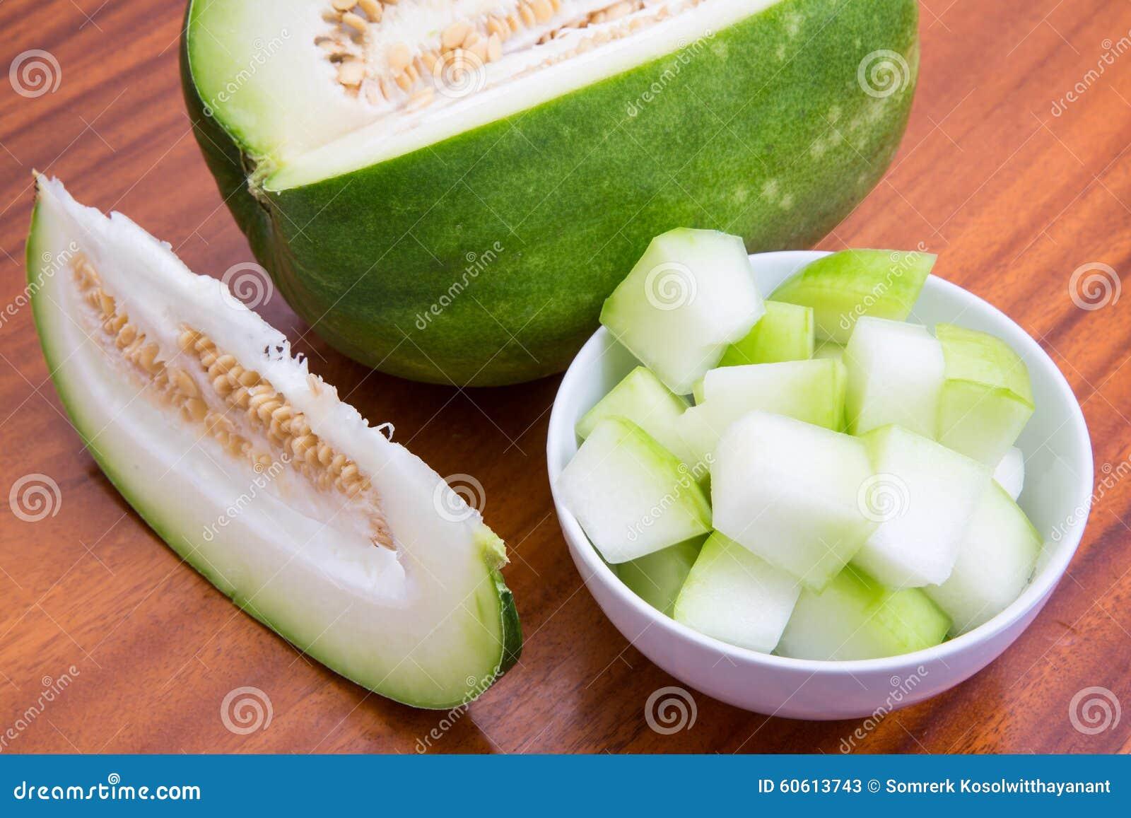 Tranches de melon d hiver