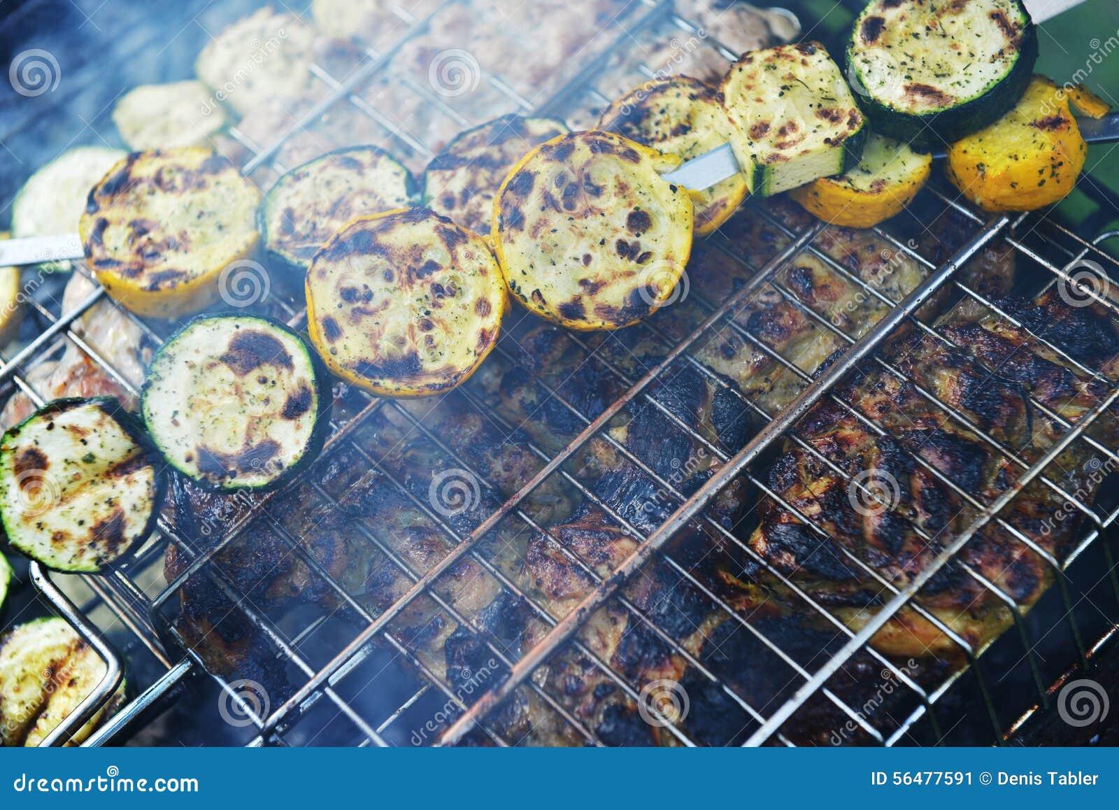 Tranches et courgette de viande