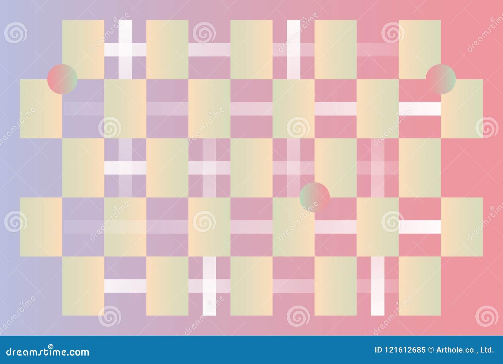 Trandy color pattern background
