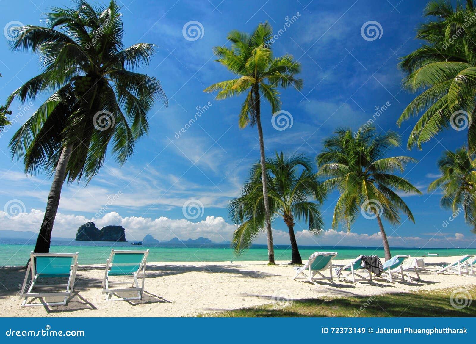 Trang的泰国天堂海岛