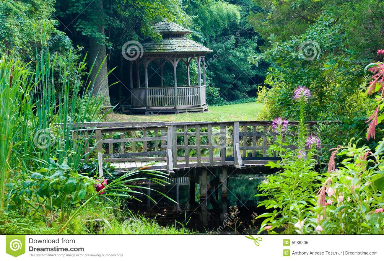 Tranquil Garden Royalty Free Stock Photo Image 5986205