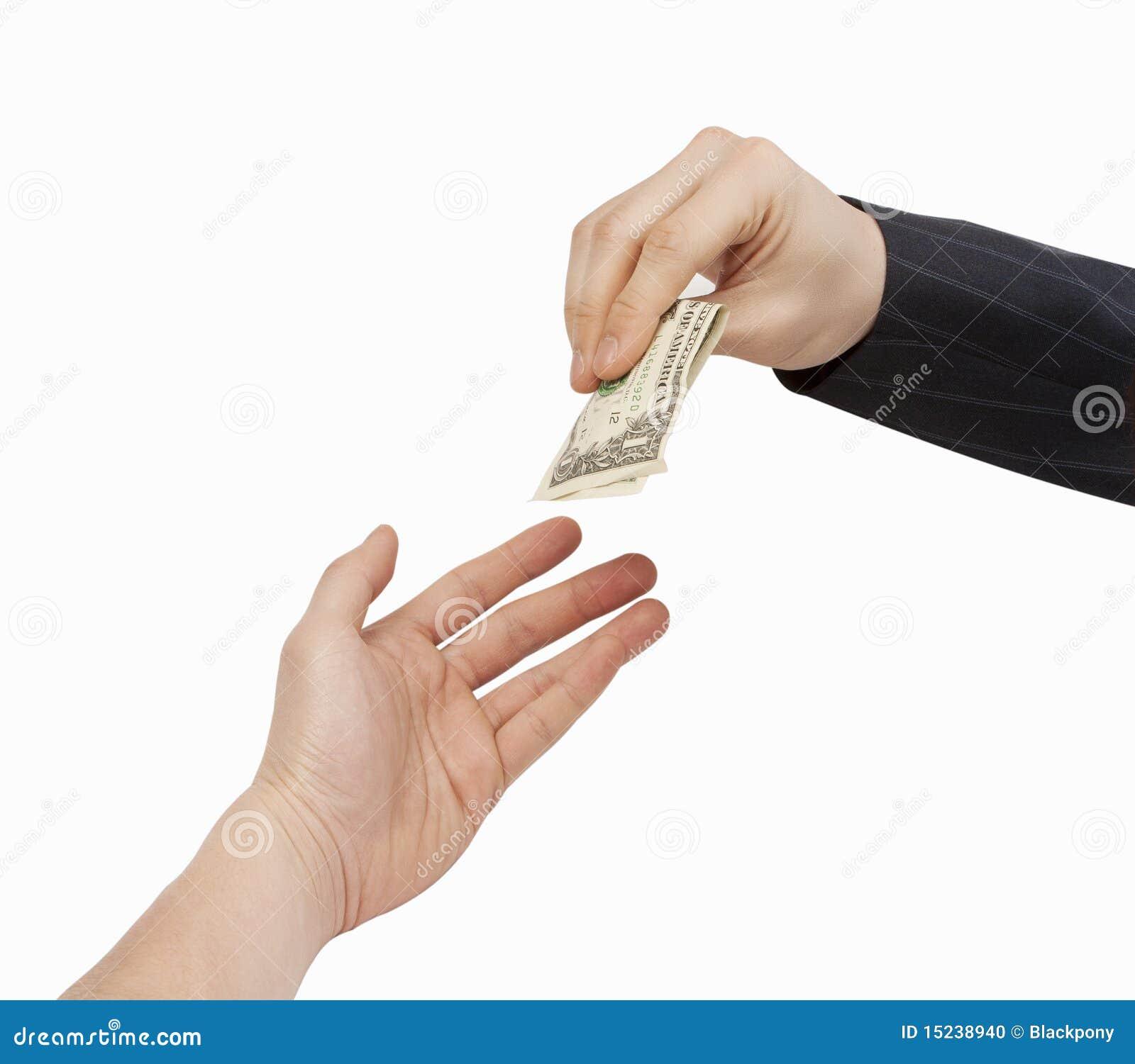 Transactie de bedrijfs van het Contante geld