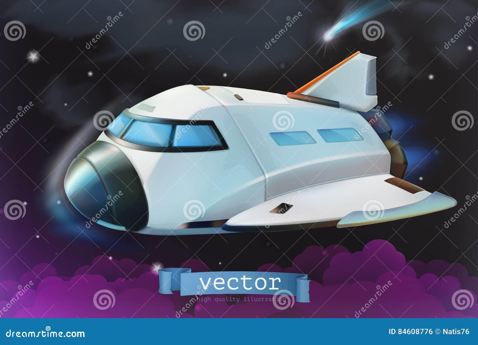 Transbordador espacial Engrana el icono