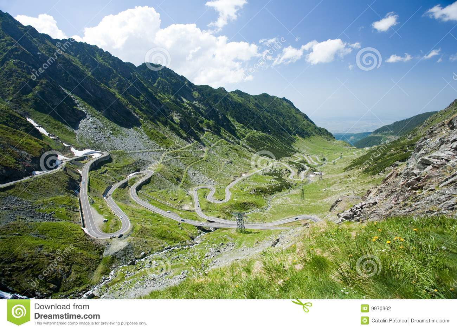 Transfagarasan, la strada più famosa in Romania