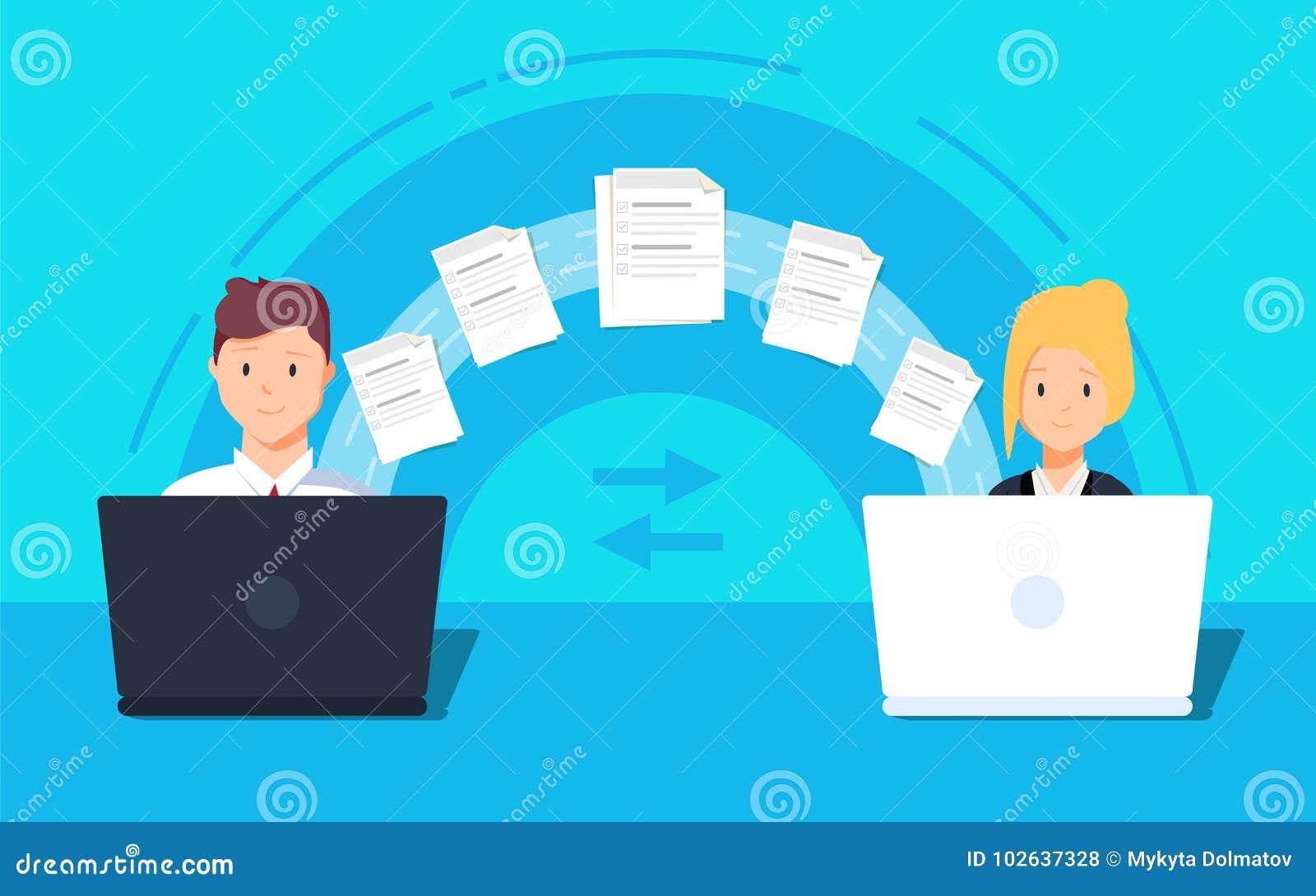 Transferência de arquivo Dois originais transferidos portáteis Copie os arquivos, de intercâmbio de dados, backup