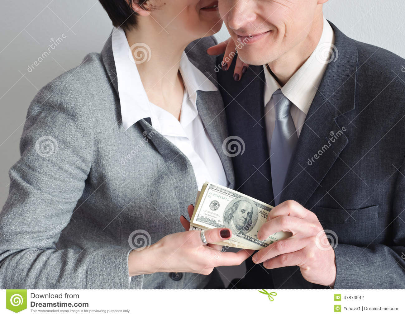 Transfer Money From Hand To Hand Stock Photo - Image of money ...