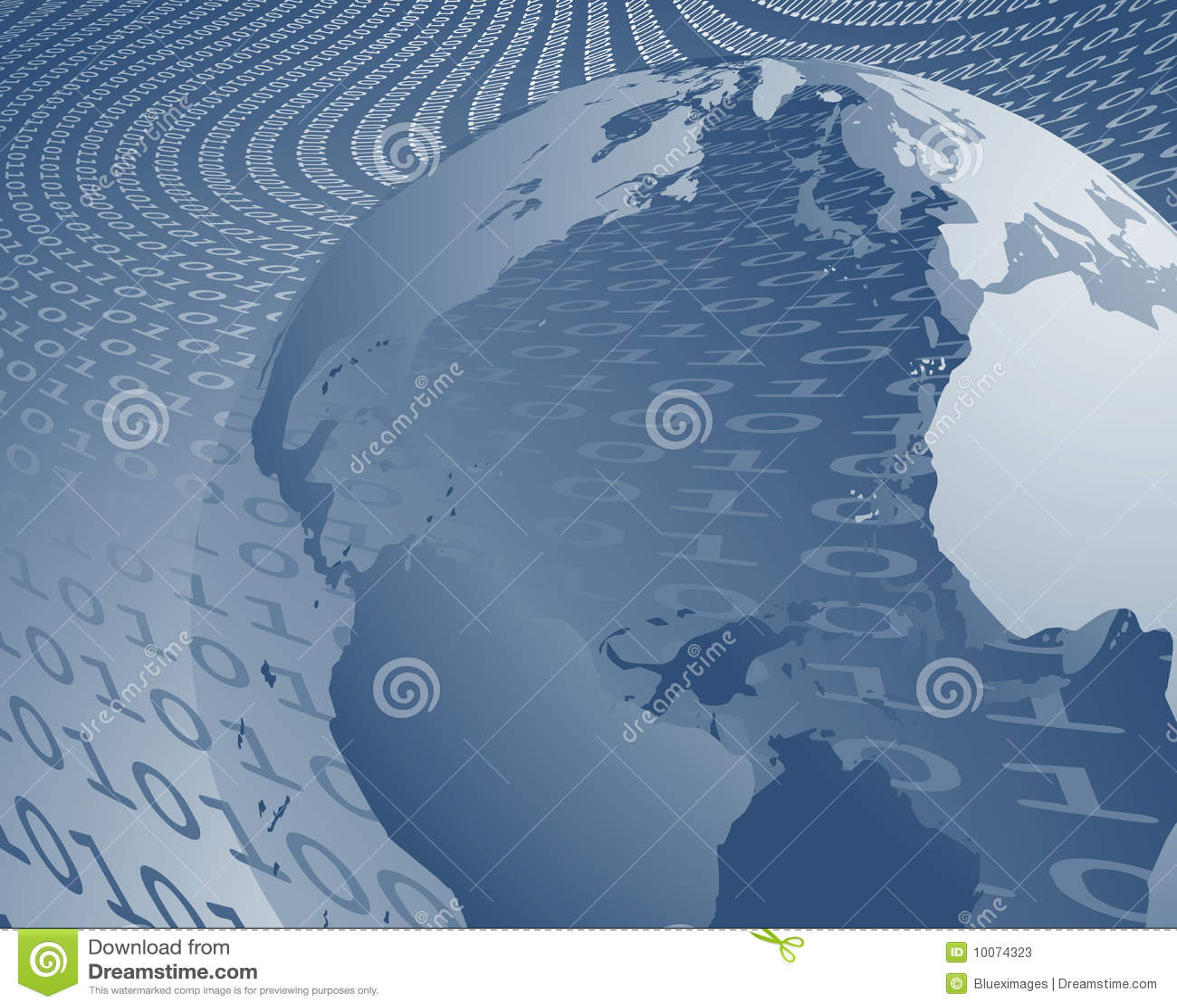 Transferencia de datos mundial