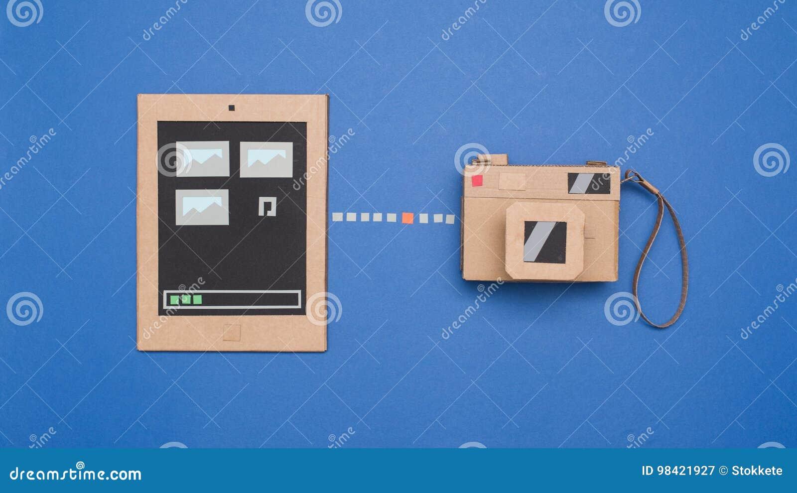 Transfert de photo à partir d appareil-photo au comprimé