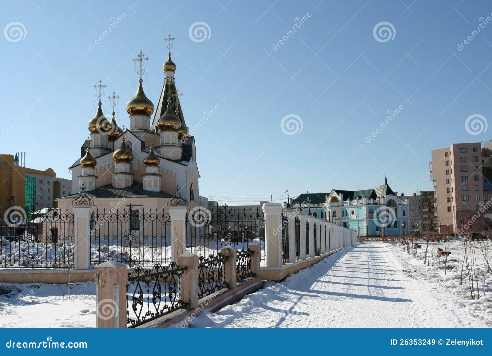 Transfiguration-Kirche in Ykutsk