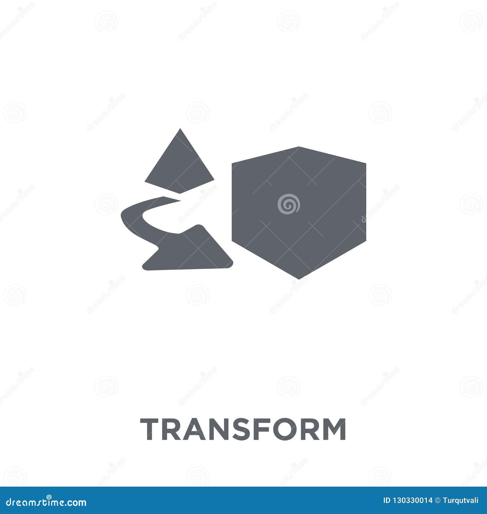 Transformatiepictogram van Meetkundeinzameling