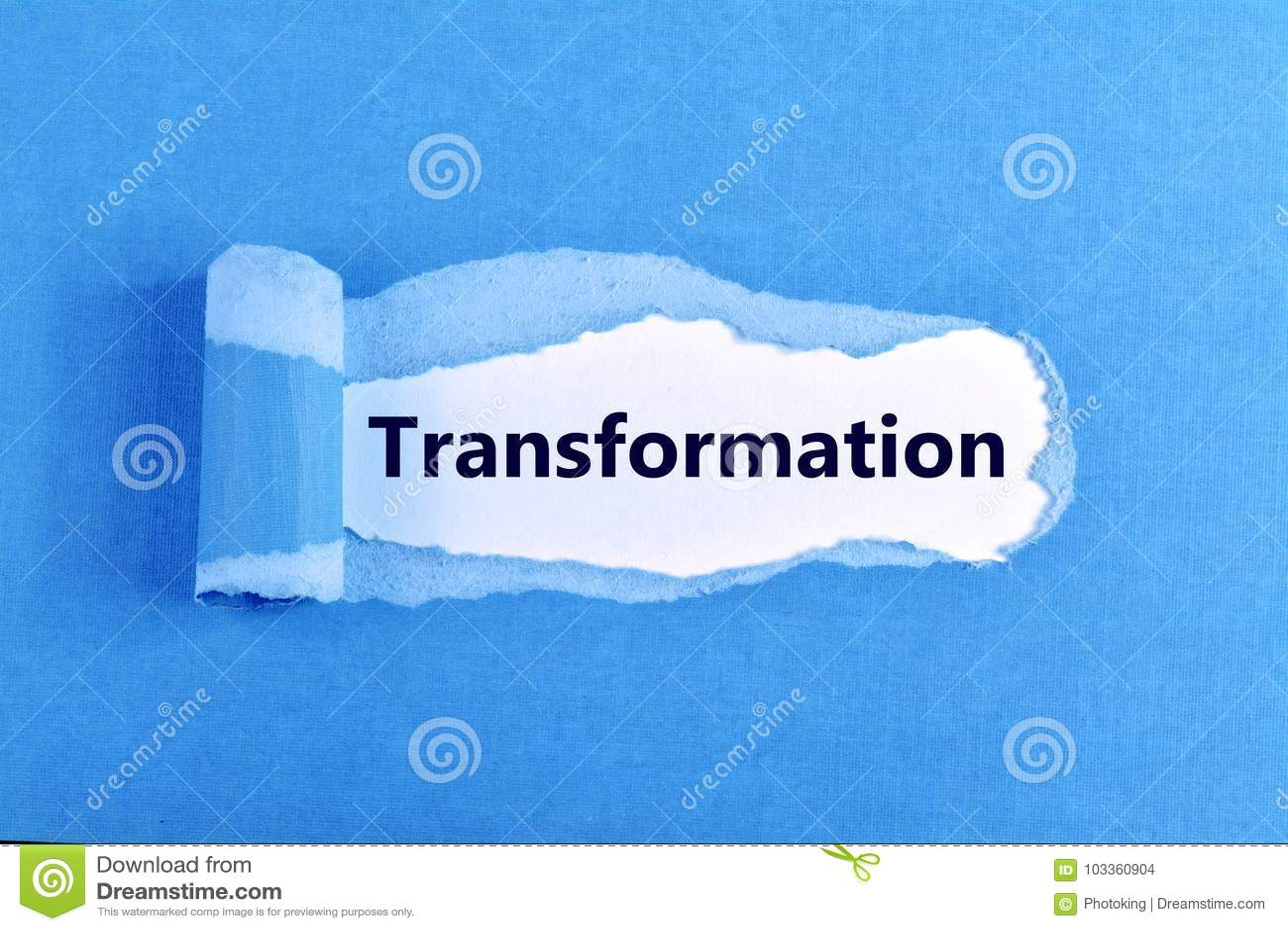 Transformation word