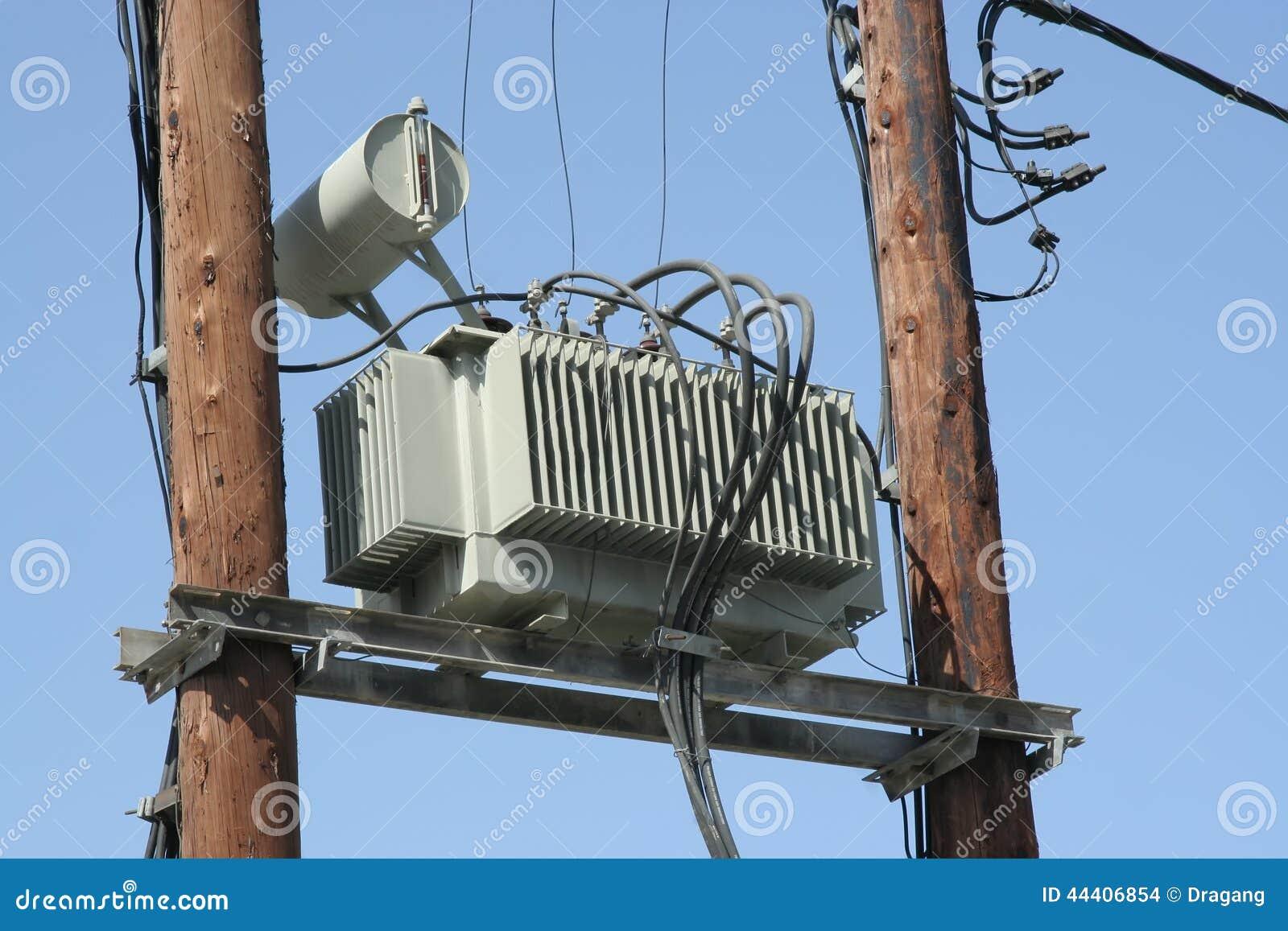 Transformer Stock Photo Image 44406854