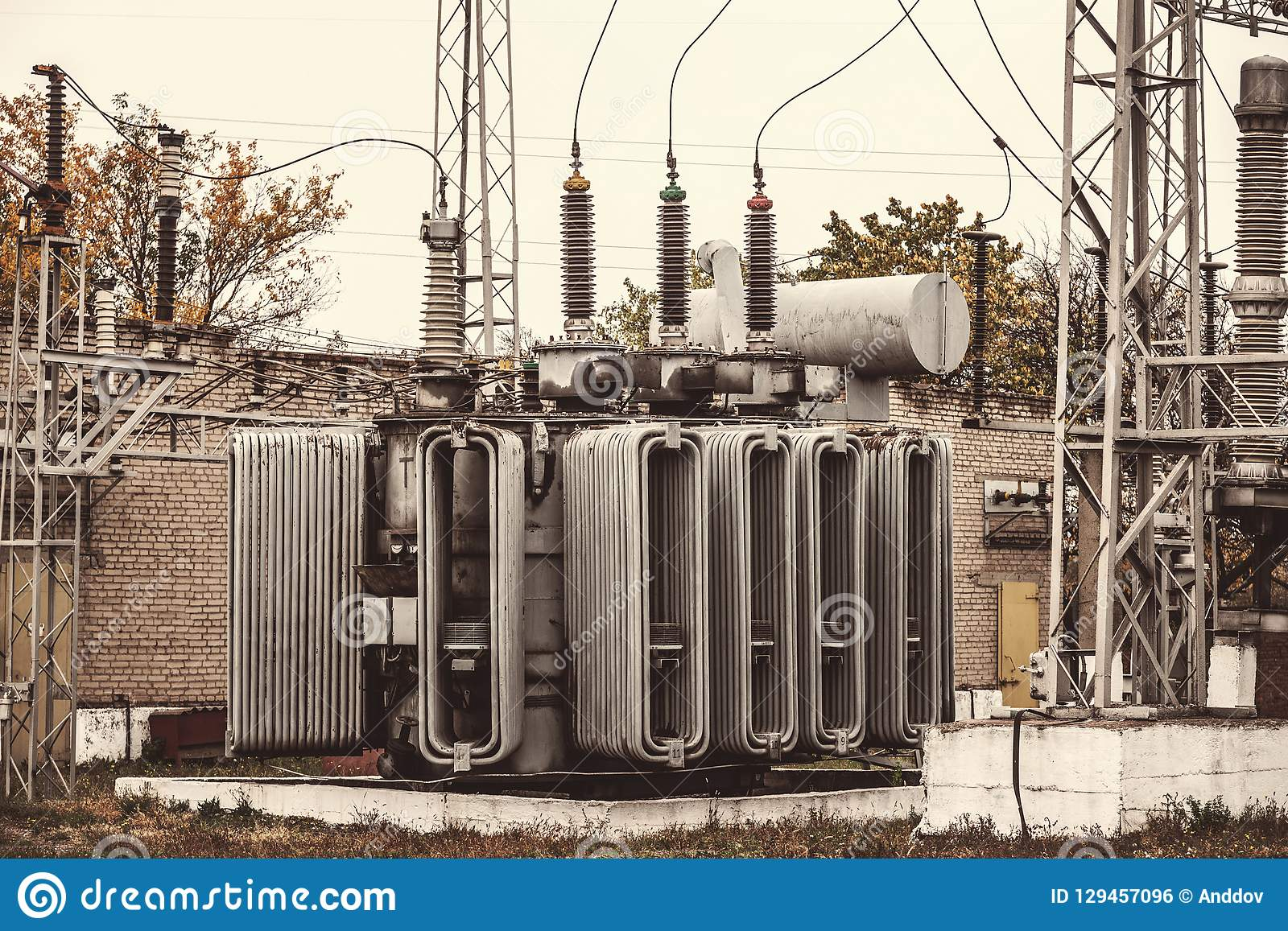 Transformer Substation, High-voltage Switchgear And