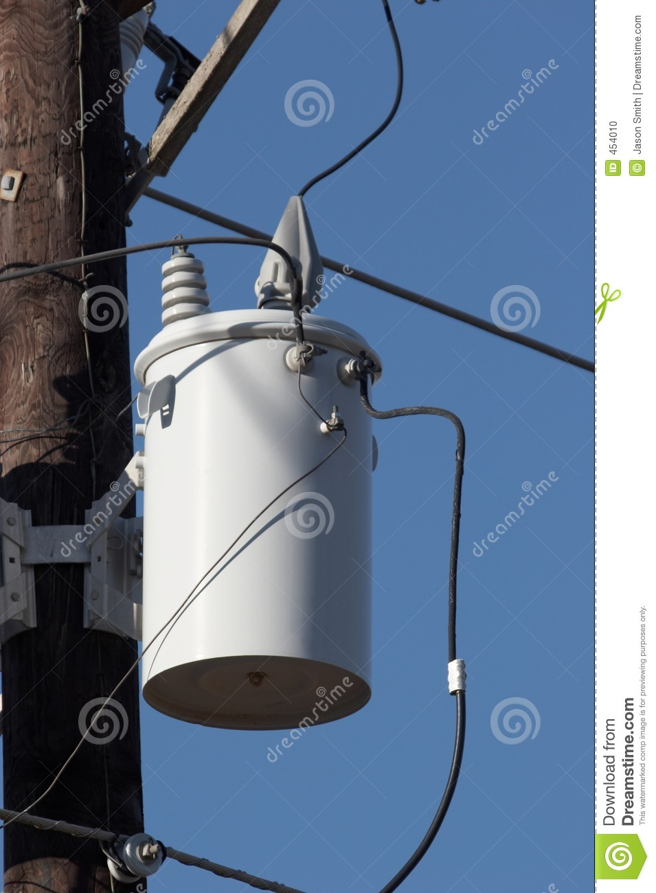 Download Transformers stock photo. Image of line, pole, power, high - 454010