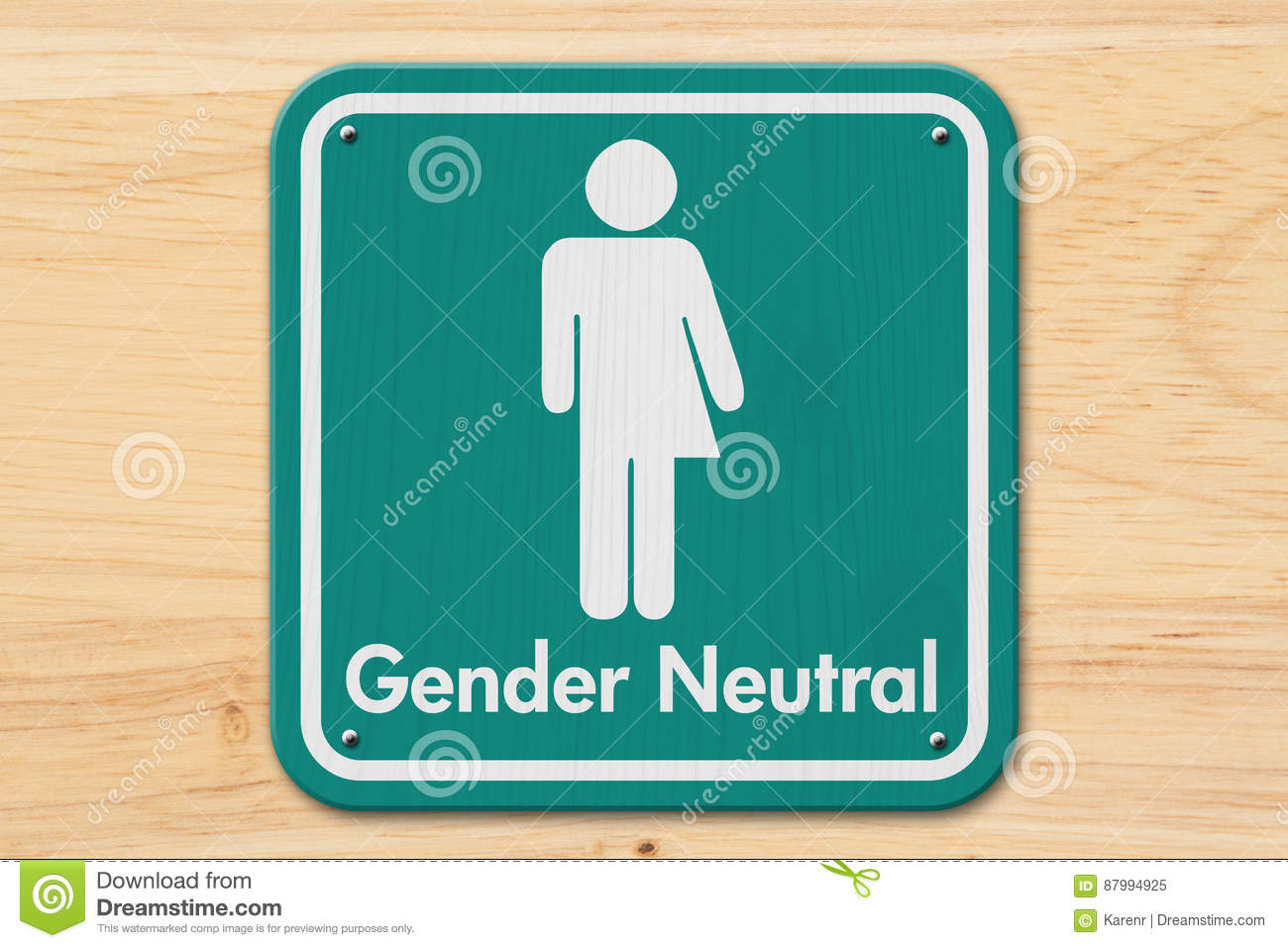 Gender Sign Royalty-Free Stock Photography