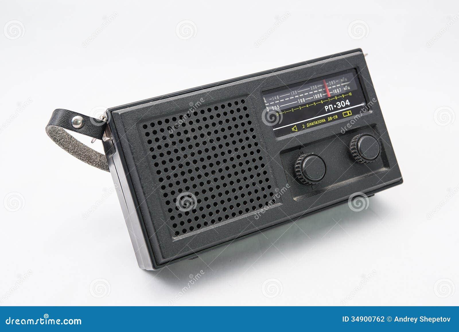 Transistor radio stock photo  Image of scale, union