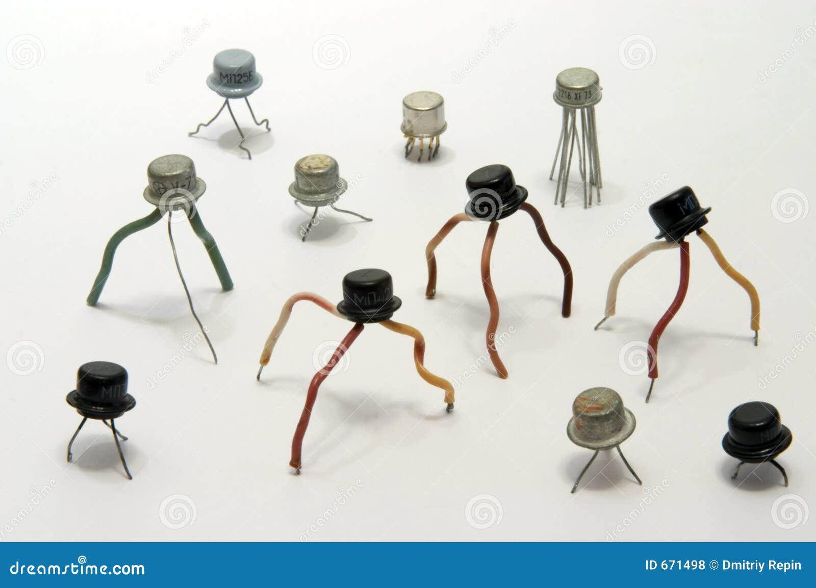 Transistores electrónicos