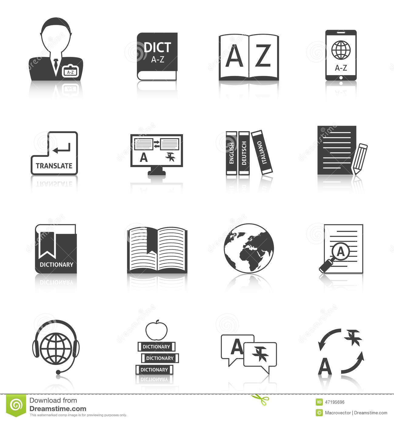Collection of online dictionaries: a selection of sites