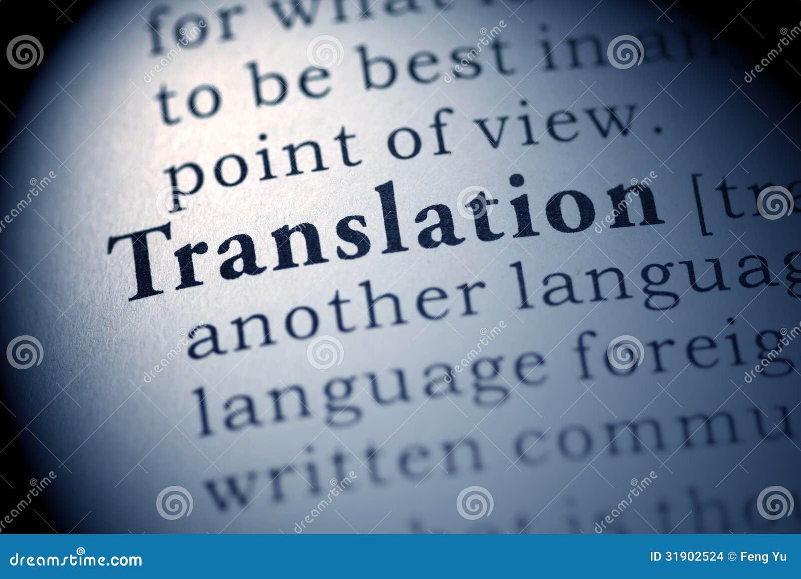 Translator Italian: Translation Stock Images