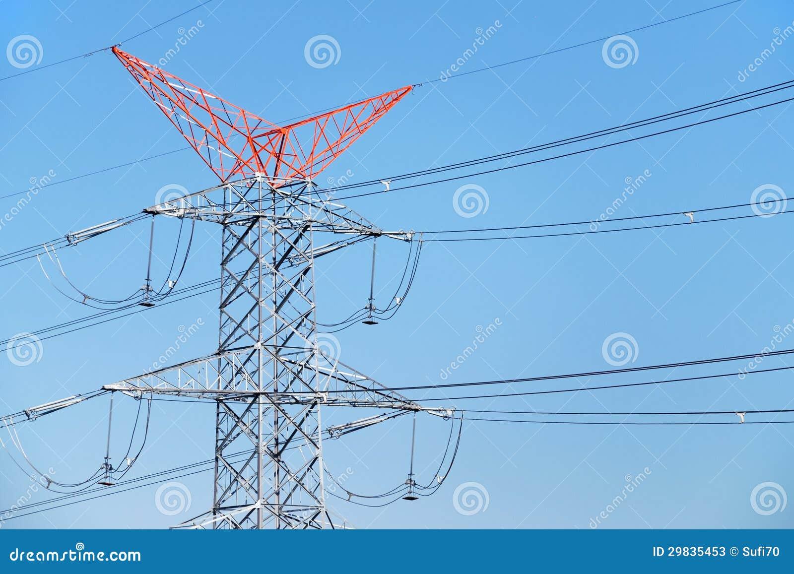 Linhas da distribuição da energia