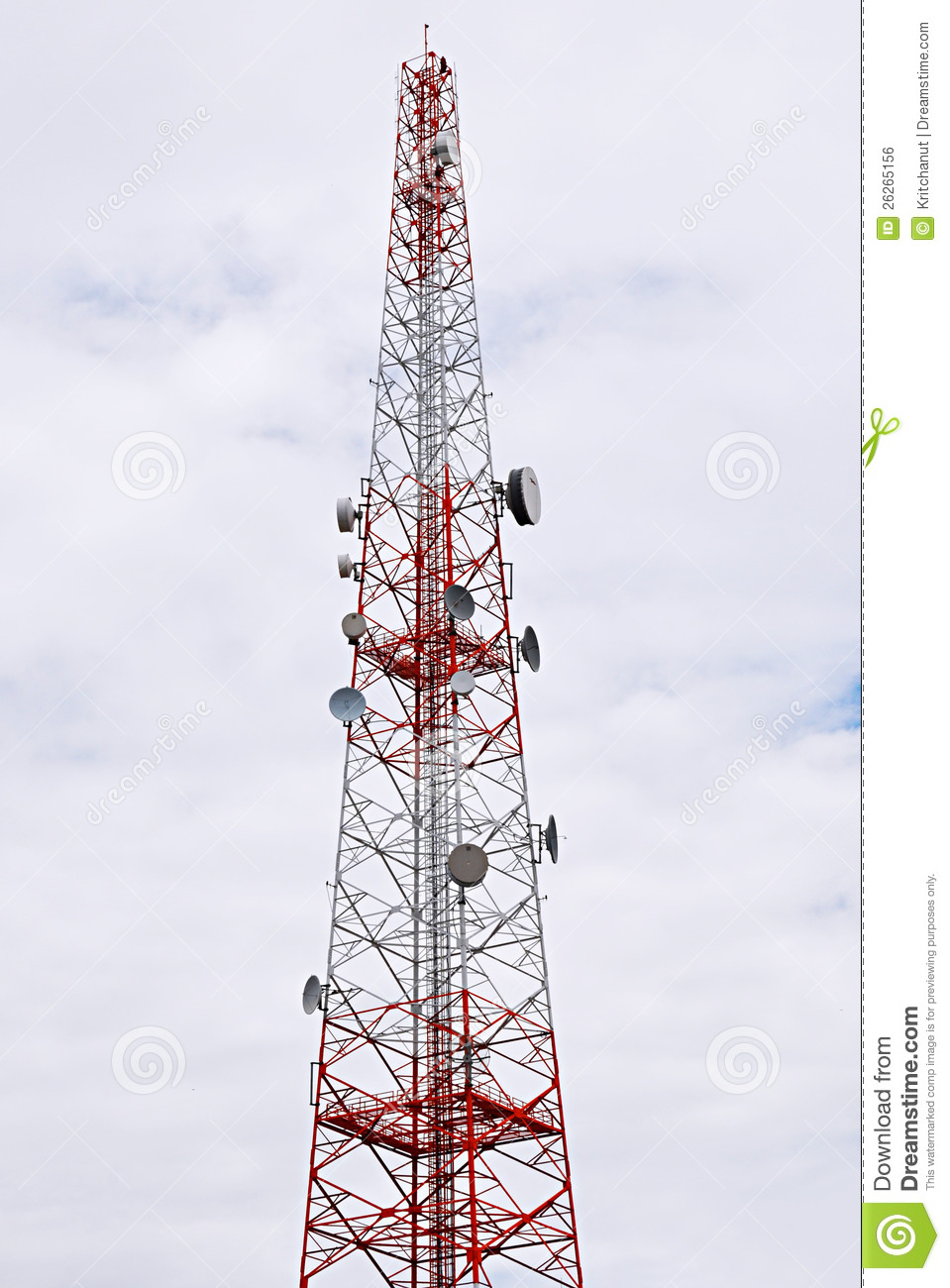 Broadcast Tower Vector Transmission Tower Roy...