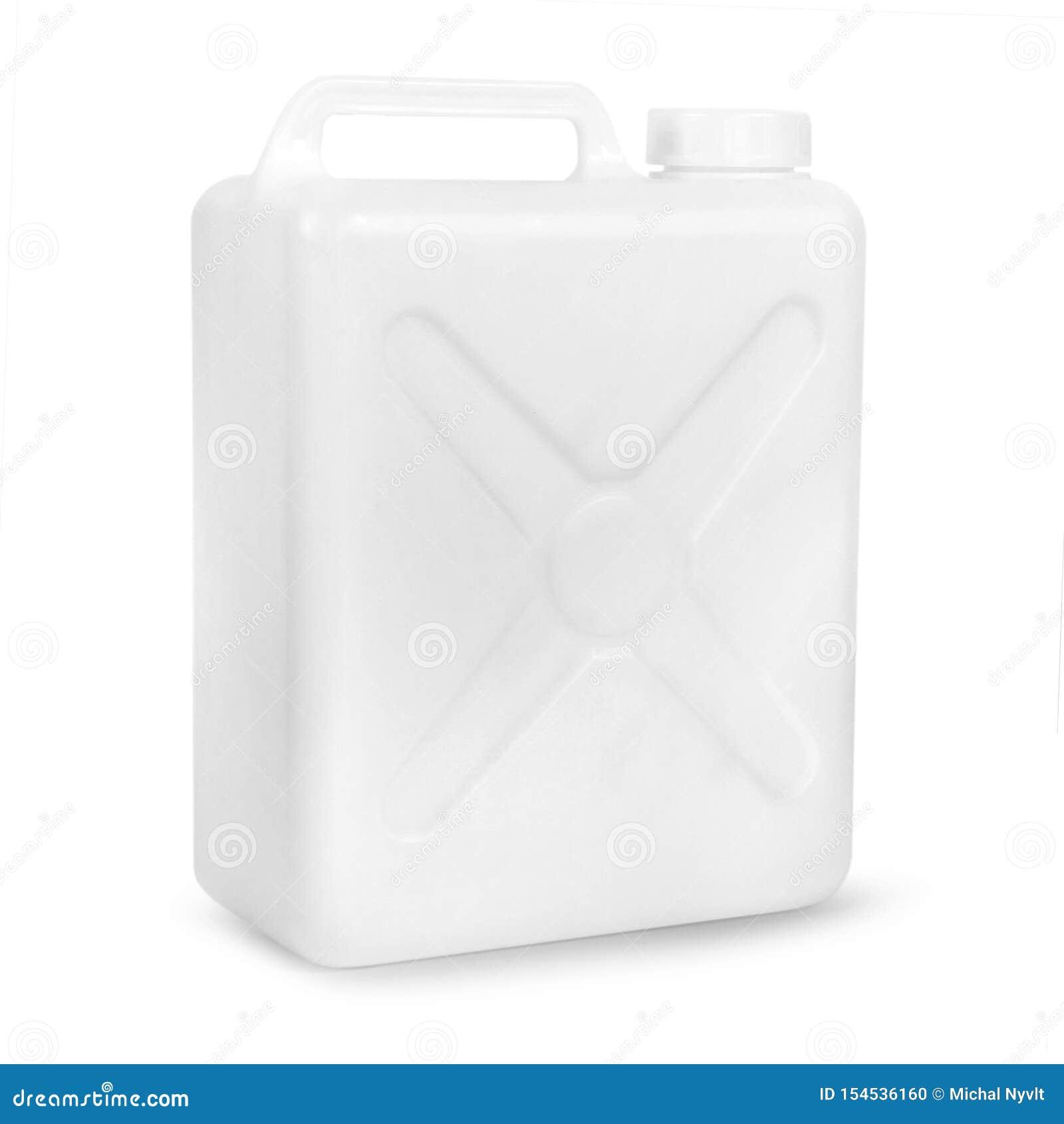 Transparante plastic gallon