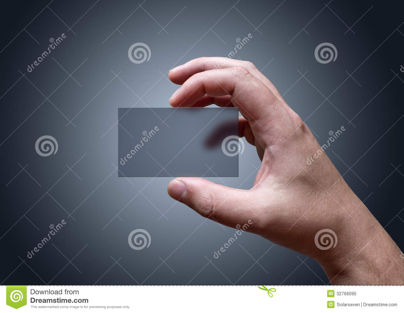 Transparent Business Card stock image. Image of background - 32766095