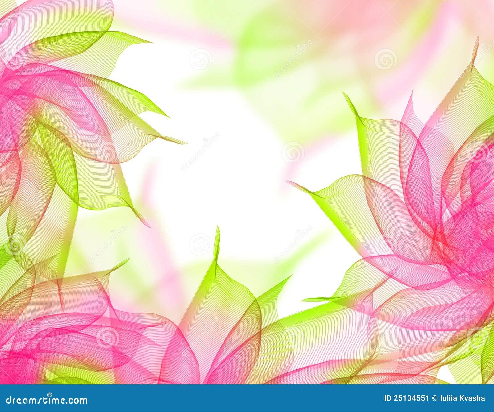 Transparent Floral Background Stock Image Image Of Color Fresh