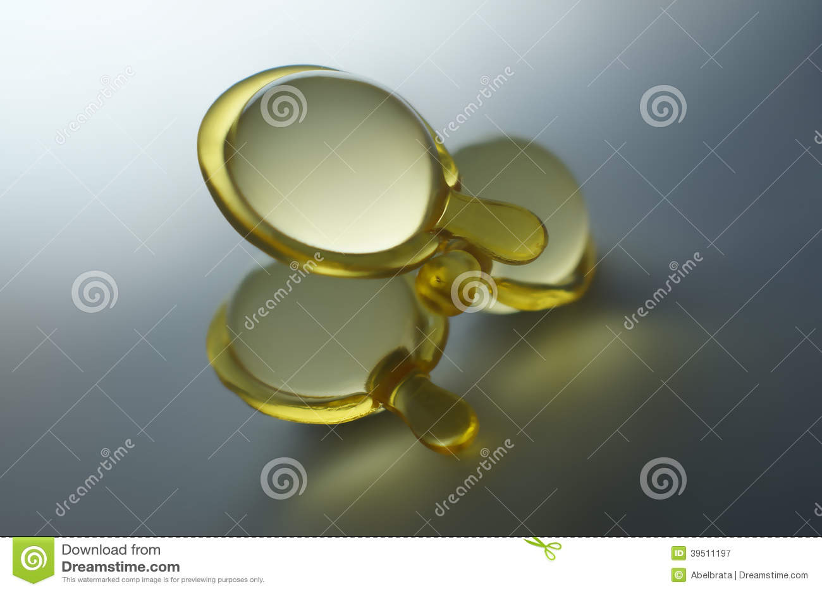 Transparent Hair Vitamin Capsules