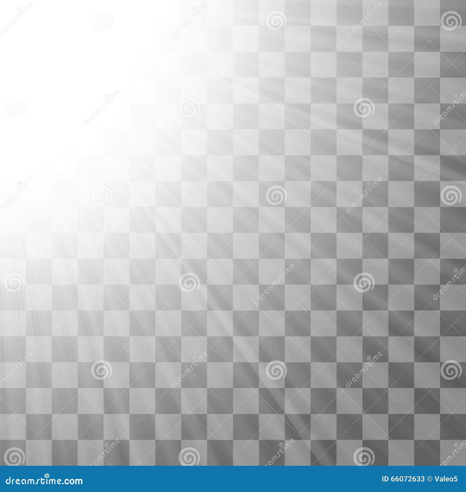 Transparent Light Background Stock Vector Illustration
