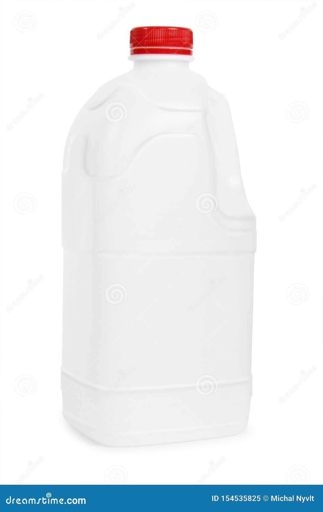 Transparent plastic gallon