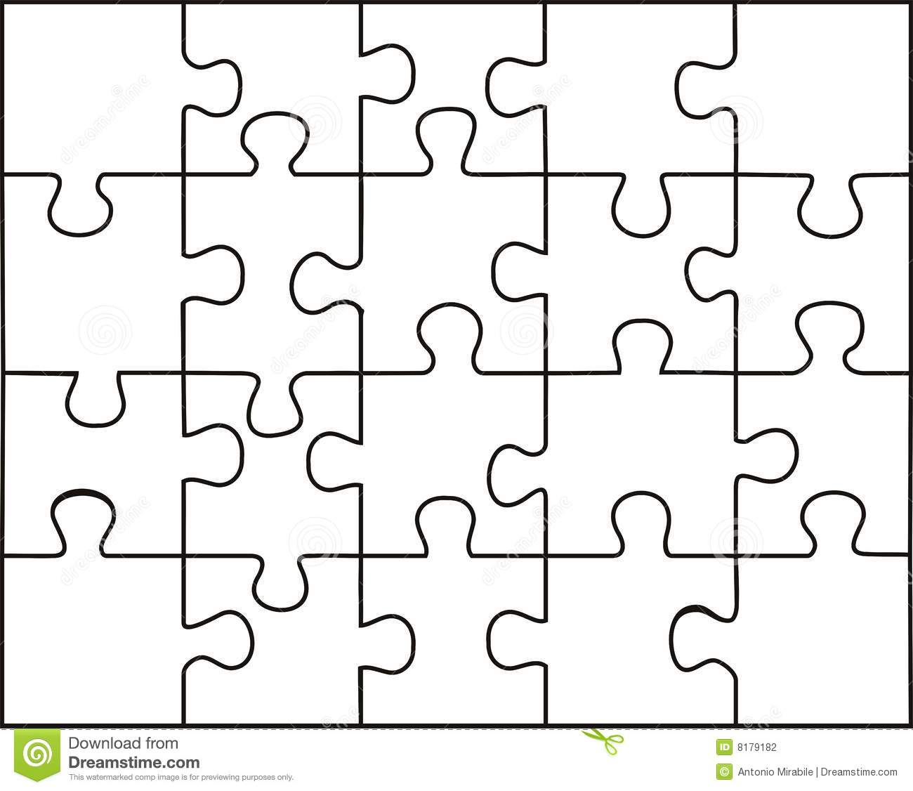 Transparent Puzzle Stock Photography Image 8179182