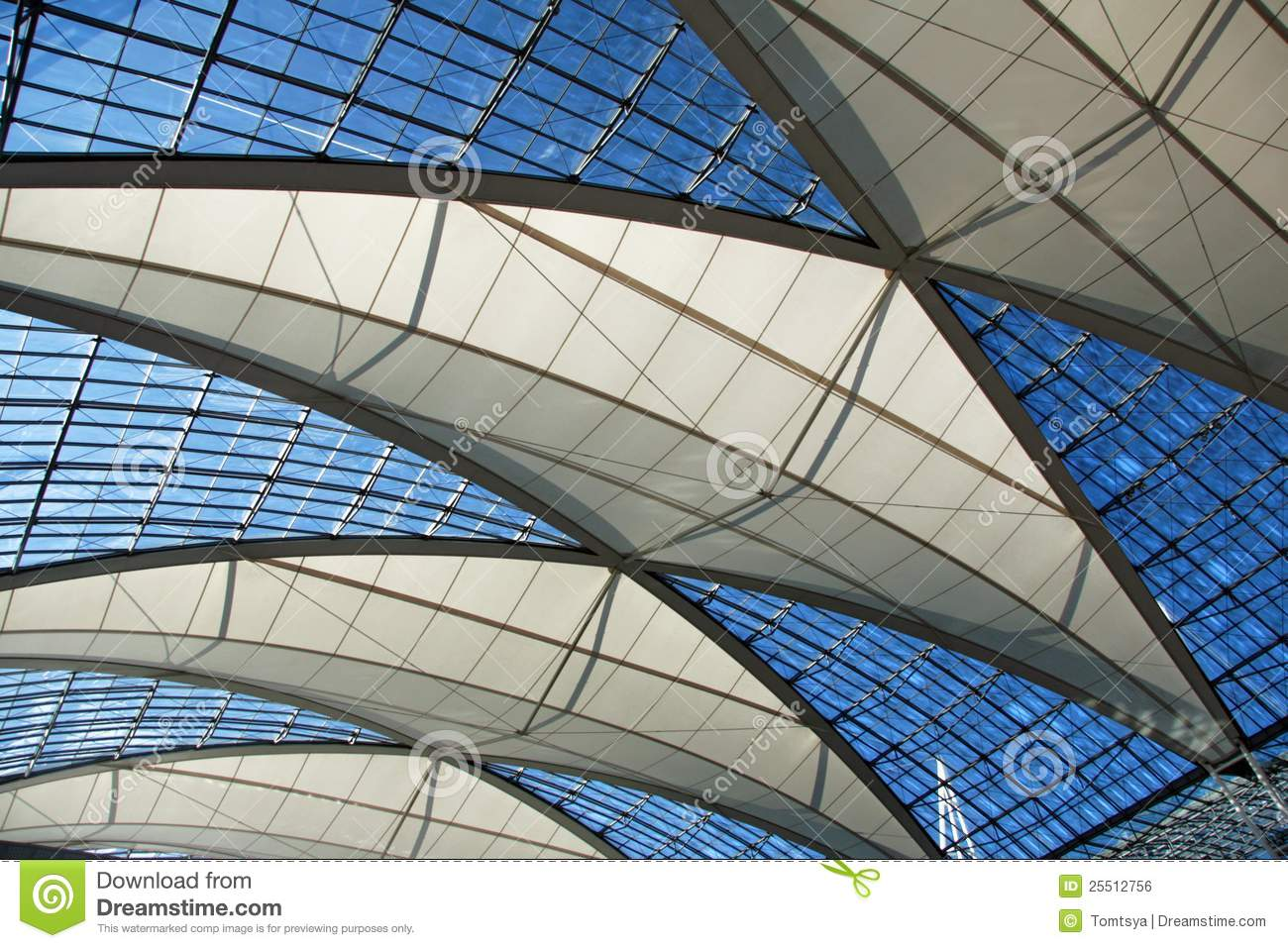 Transparent Roof Stock Photo Image Of Dome Light Glass