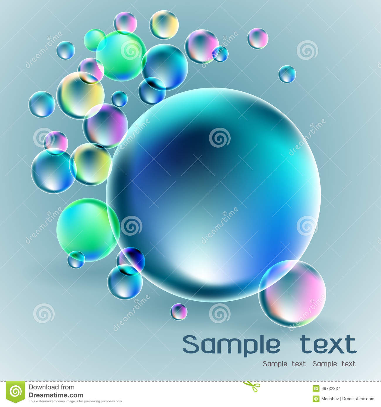 Soap bubble background download free vector art stock graphics - Transparent Soap Bubble On Gray Background Stock Vector