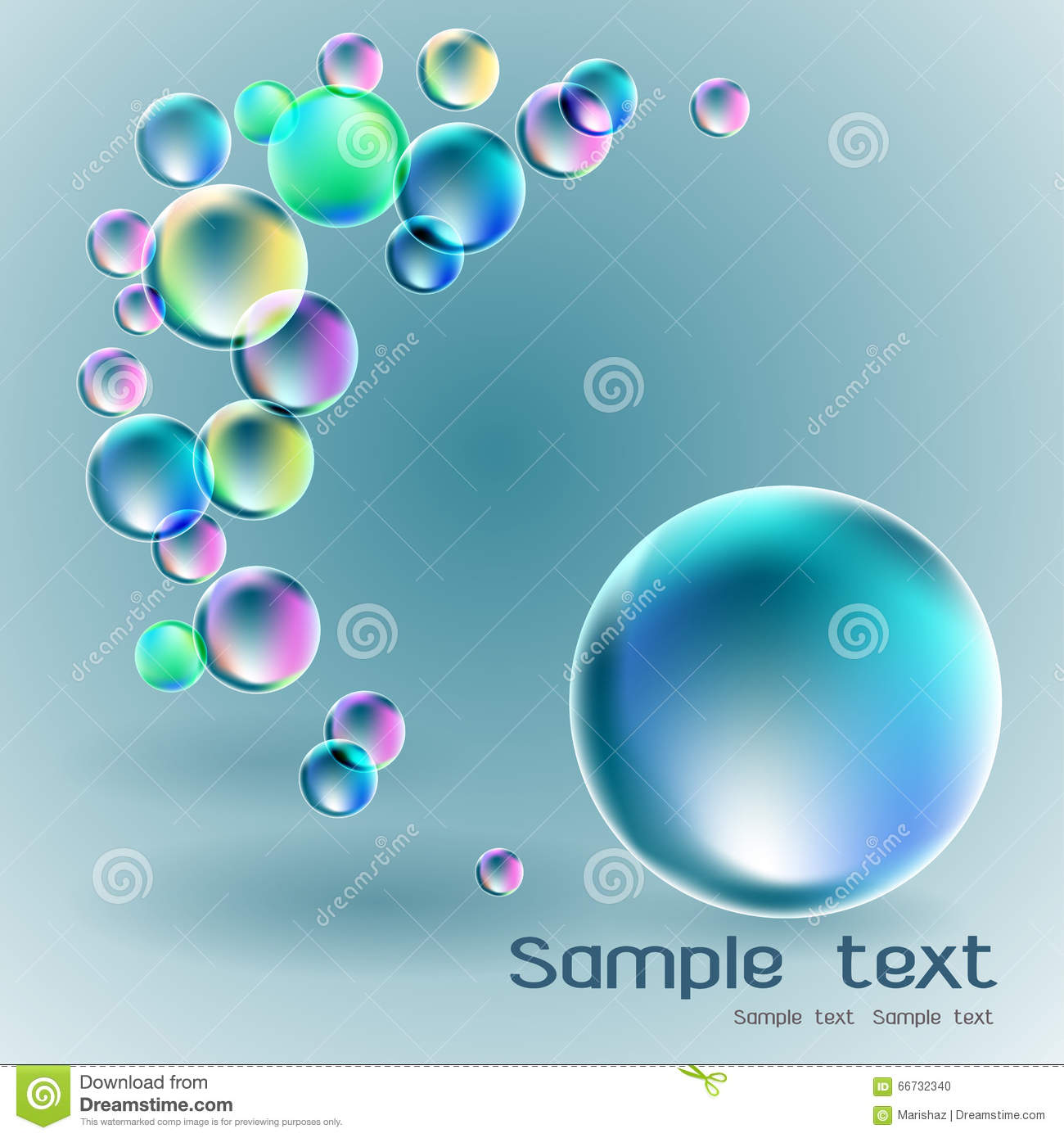 Soap bubble background download free vector art stock graphics - Royalty Free Vector Advertisement Background Banner Soap