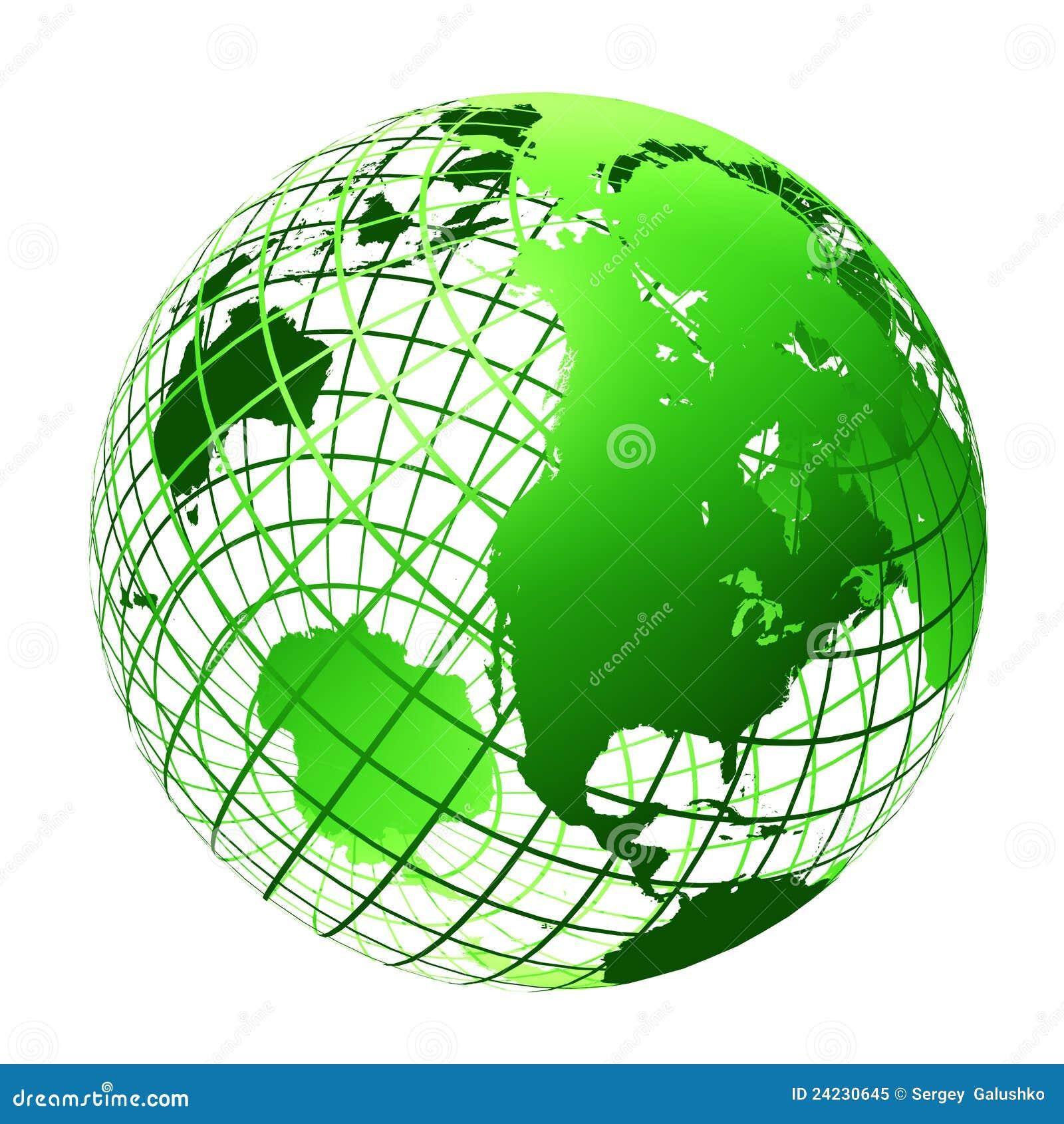 el color verde del globo foto de archivo libre de regalas