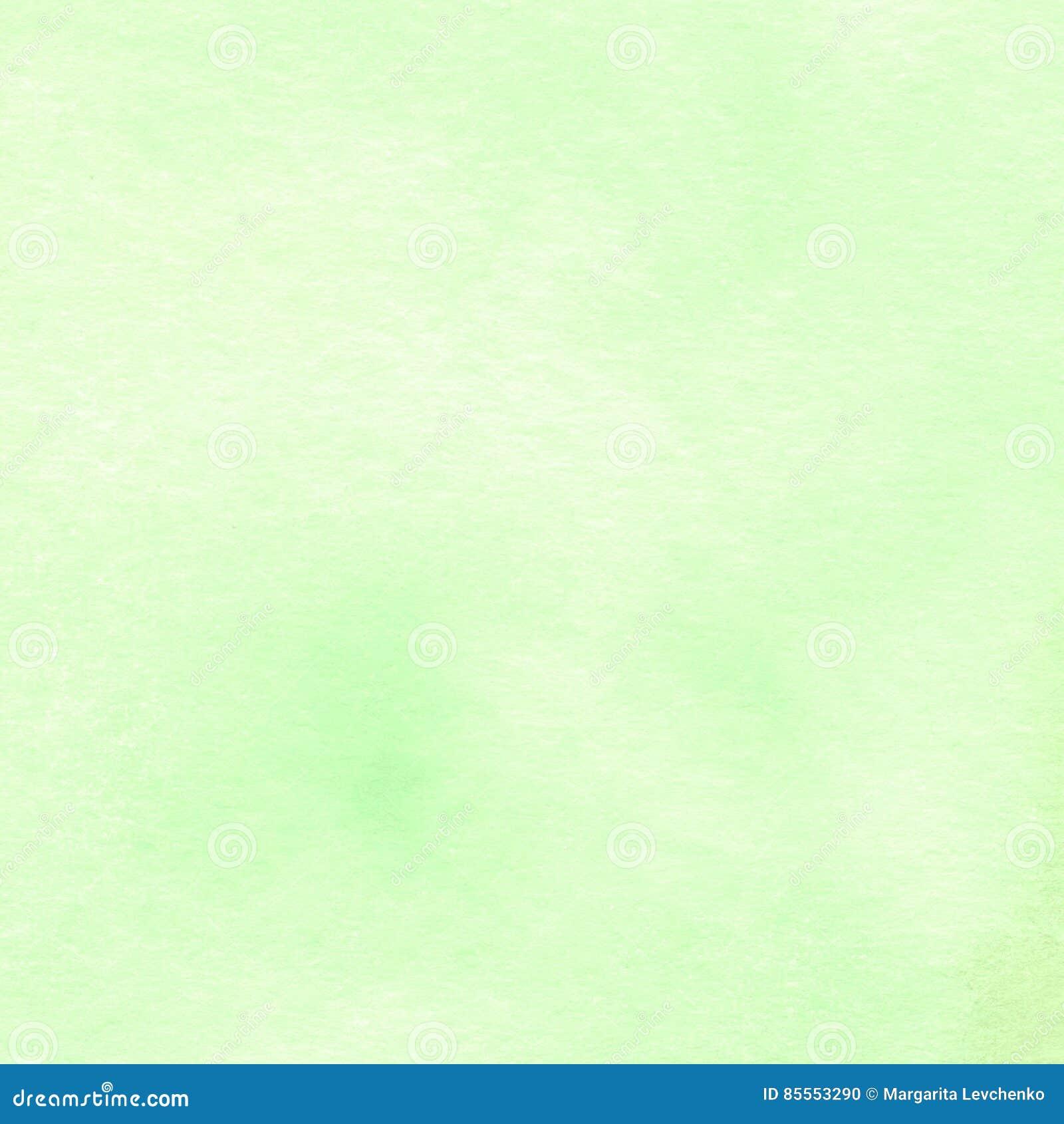 Transparente helle Minze der Aquarellbeschaffenheit, Blau, Grün, Grün schattiert Stellen