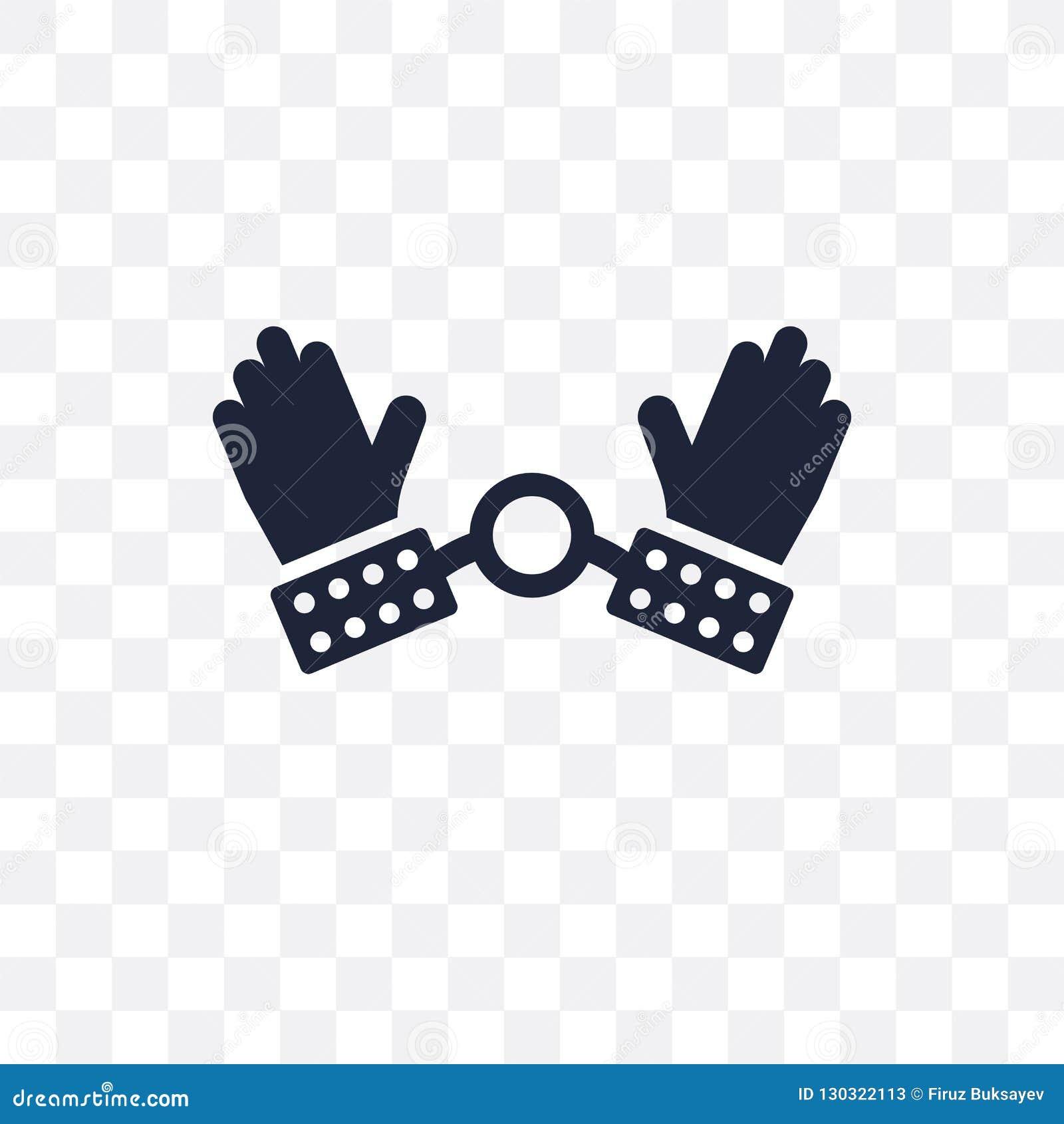 Transparente Ikone der Sklaverei Sklavereisymbolentwurf von politischem c