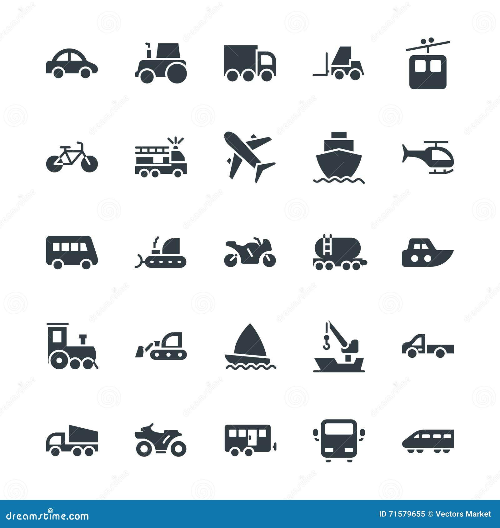 Motor Caravan And Sports Car Vector Illustration ...