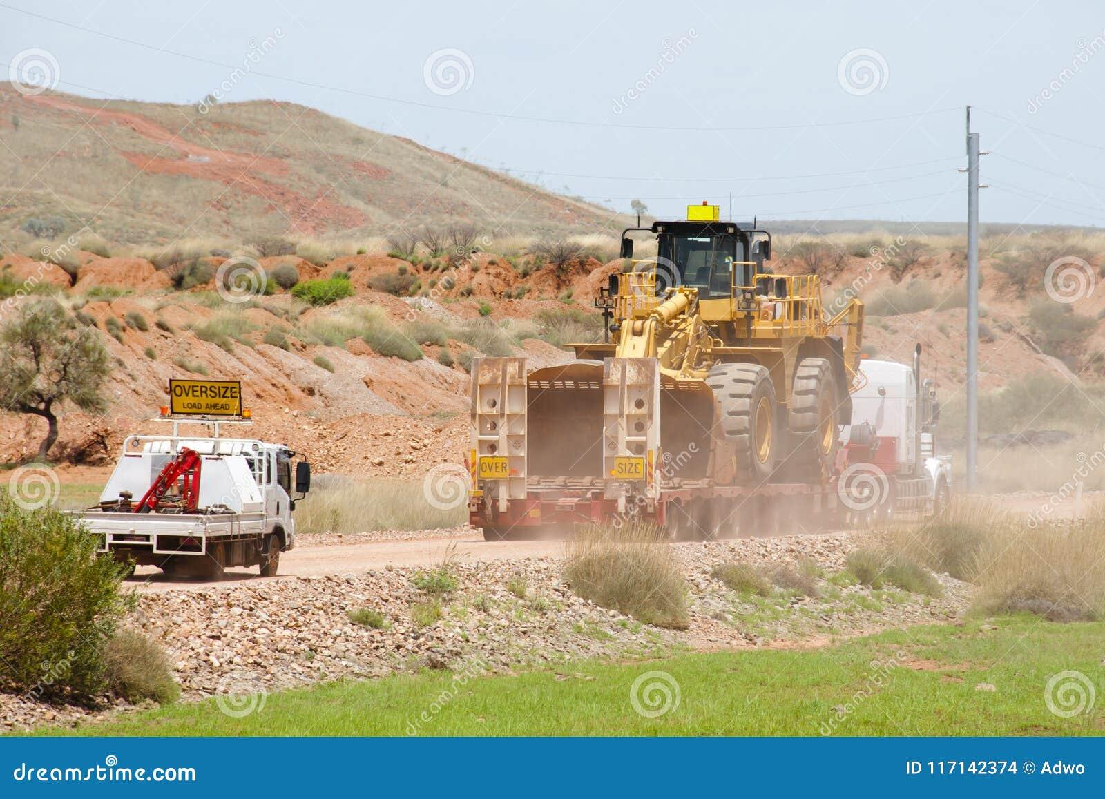 Transport i storformat för tungt maskineri