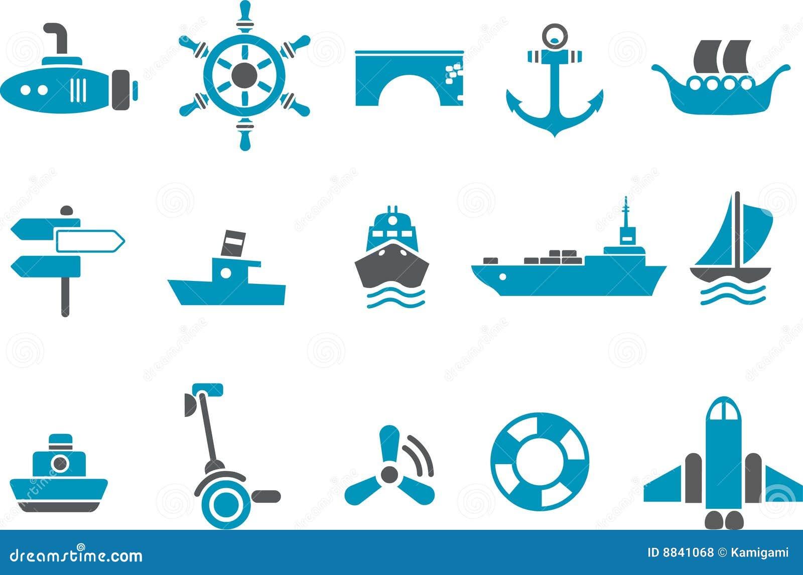 Transatlantic Bridge >> Transport Icon Set Royalty Free Stock Photos - Image: 8841068