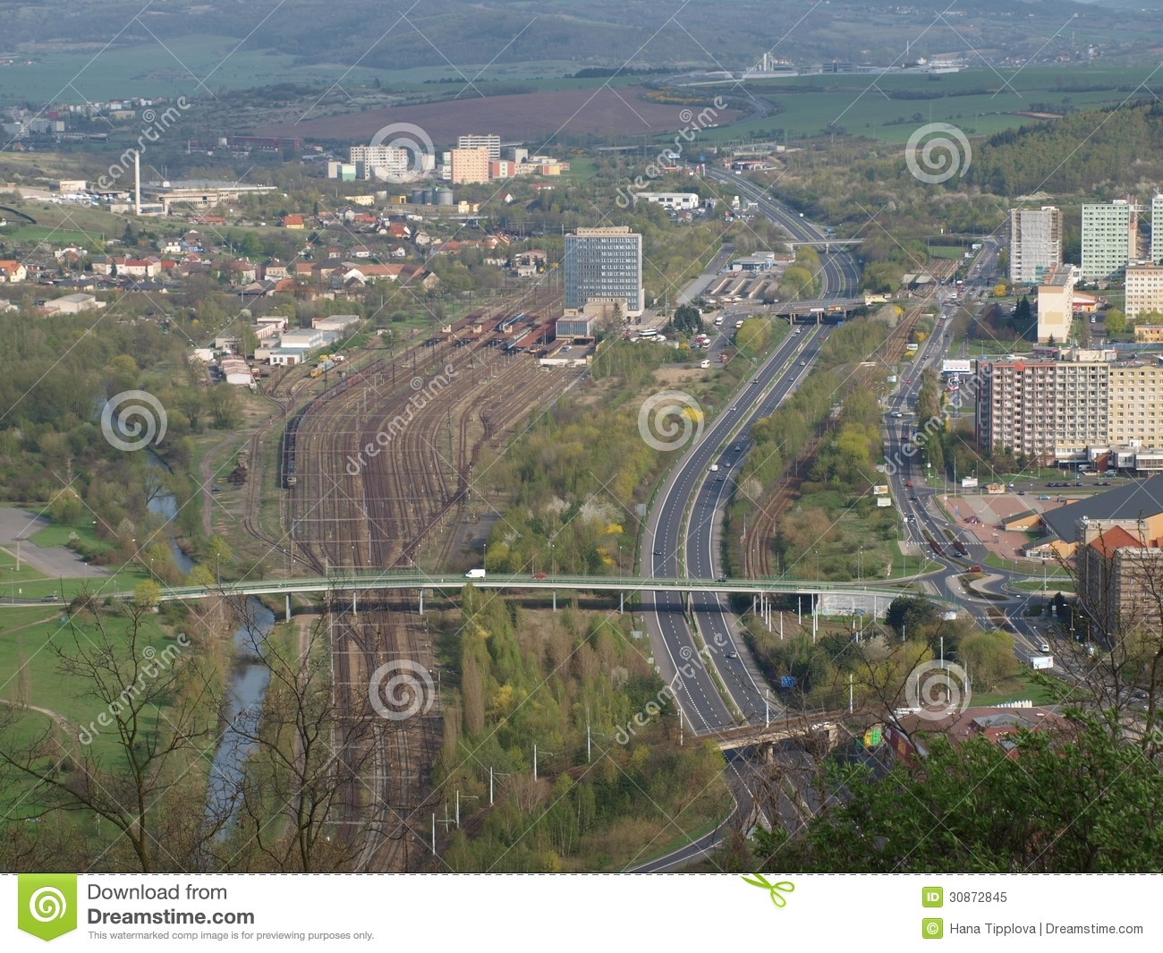 Transport infrastructure of the city