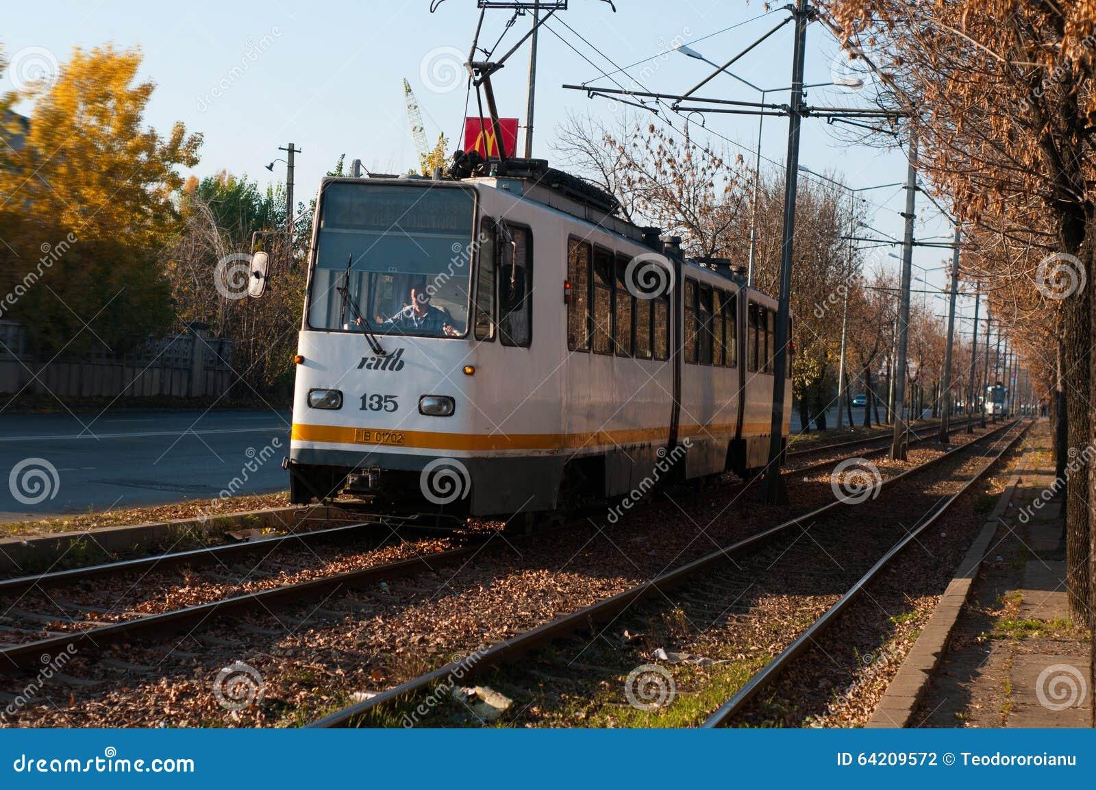 Transporte de la tranvía de Bucarest