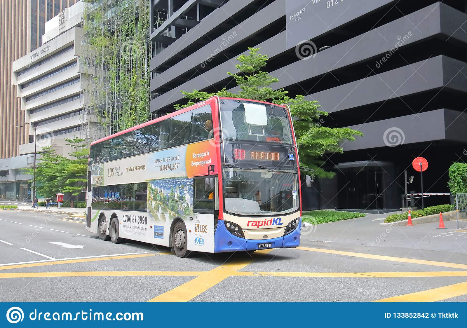 Transporte público Kuala Lumpur Malaysia del autobús