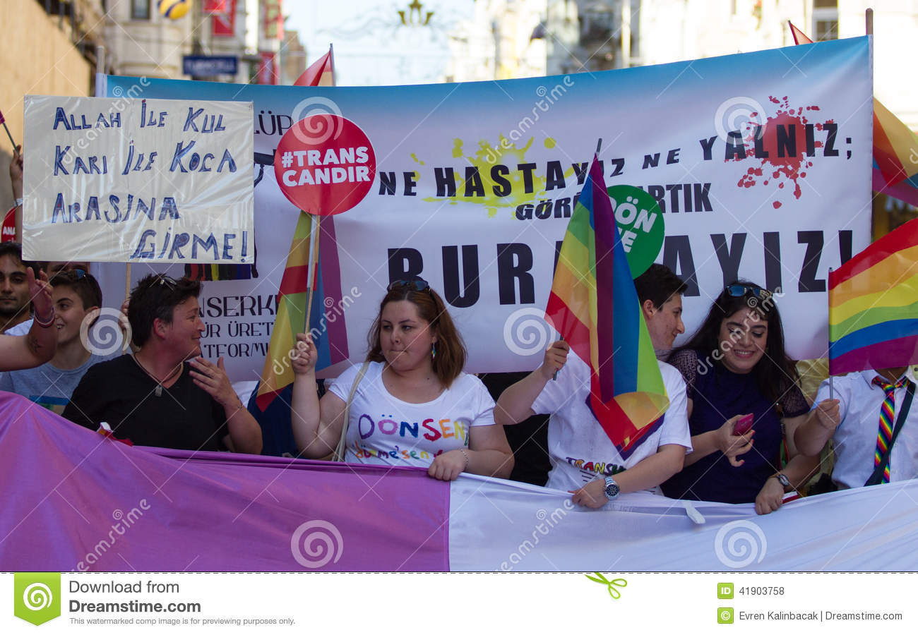 5 Transporte Pride March en Estambul